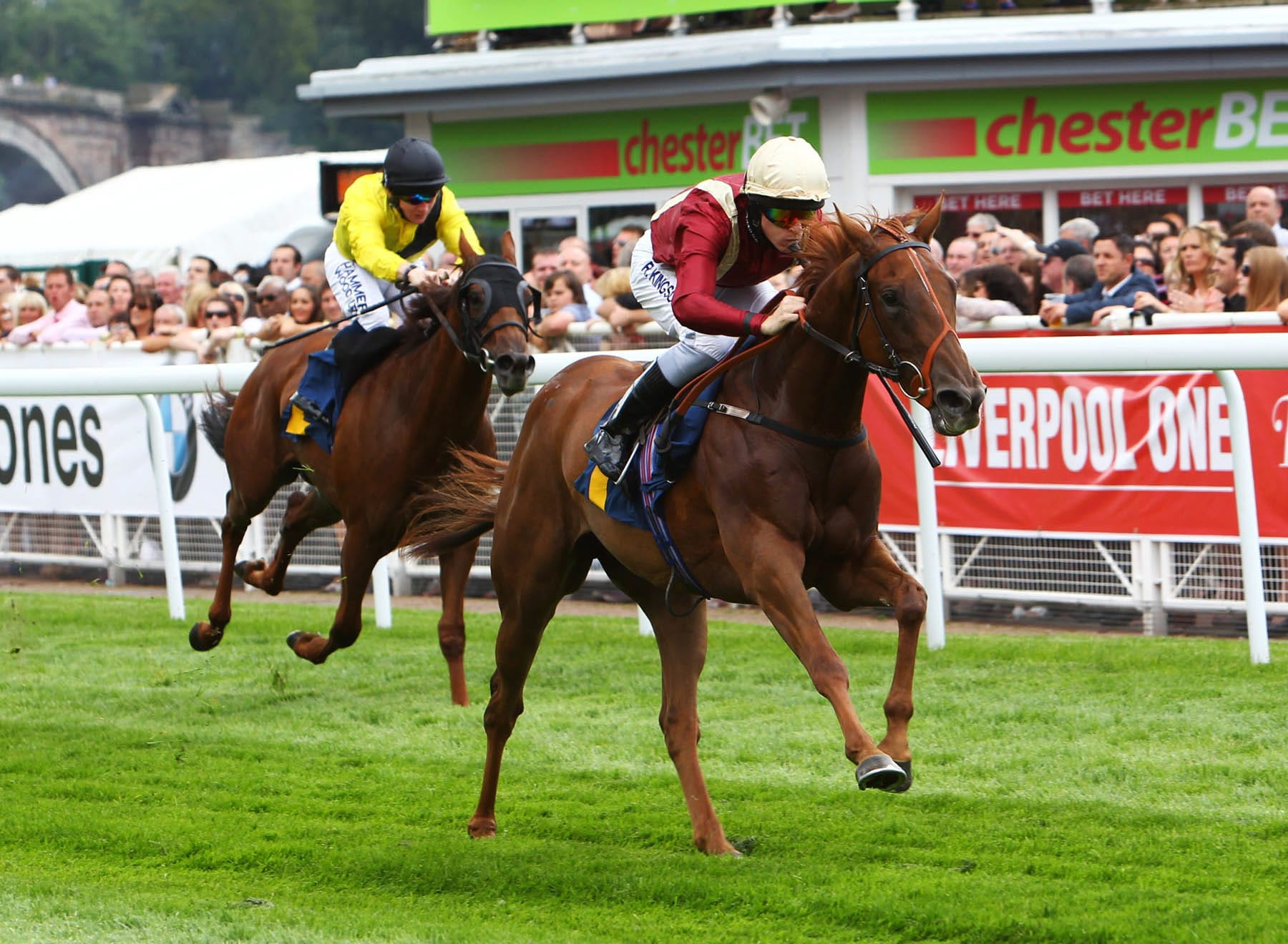 Dream Maker winning at Chester in 2012