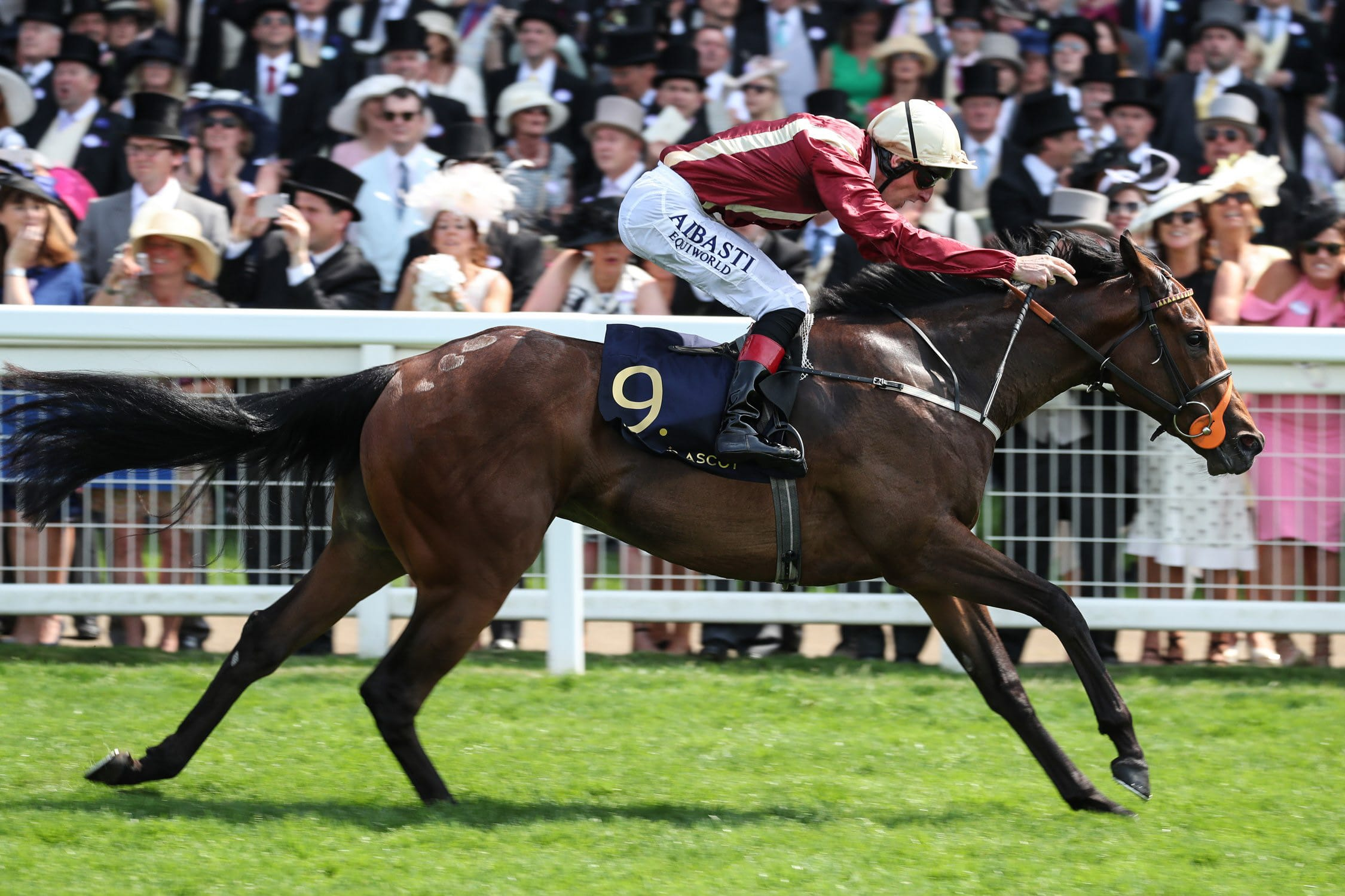 Adam Kirby steers Heartache to success at Royal Ascot
