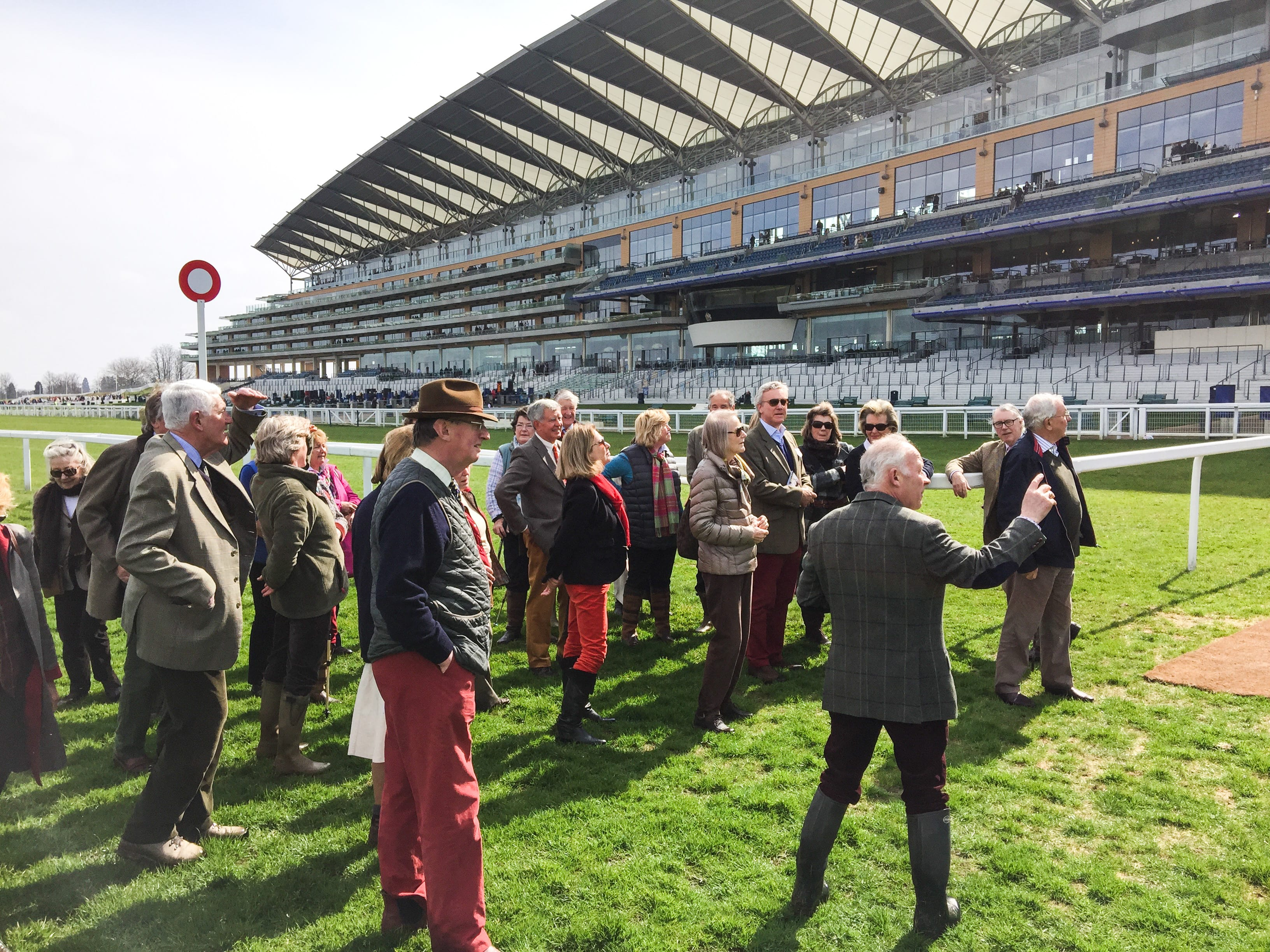 Walk of the course at Ascot